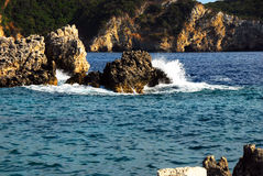 Ionian seaside Royalty Free Stock Image