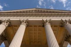 Ionian szpaltowego kapitału architektoniczny szczegół Fotografia Royalty Free
