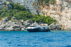 Ionian wysp lata łódź Obrazy Stock