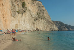 Ionian wysp lato Obrazy Royalty Free