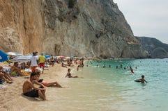 Ionian wysp lato Obraz Stock
