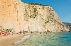 Ionian wysp lato Obraz Royalty Free