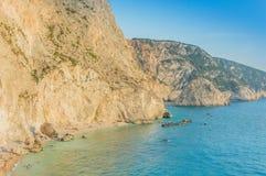 Ionian wysp lato Fotografia Stock