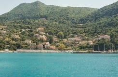 Ionian wysp lato Zdjęcia Royalty Free