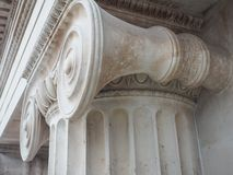 Ionic capital royalty free stock photography