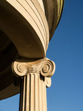 Ionic capital Stock Images