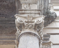 Ionic capital Royalty Free Stock Images