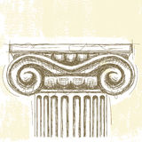 Ionic Capital Stock Photos