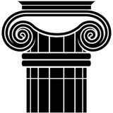 Ionic Column Stock Image