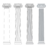 Ionic column Stock Images