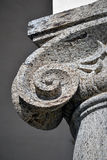 Ionic column capital detail Stock Image