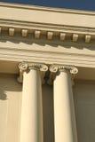 Ionic Columns Stock Image
