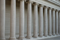Ionic columns Royalty Free Stock Photography
