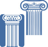 Ionic Columns Royalty Free Stock Image
