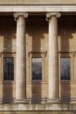 Ionic pillars stock photos