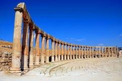 Ionische kolommen Stock Fotografie