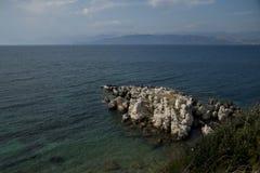 Ionische overzees Stock Afbeeldingen