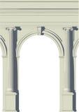 Ionische samenstelling Royalty-vrije Stock Fotografie