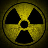 Ionizing radiation hazard. Royalty Free Stock Photos