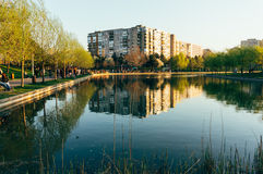 IOR Park, Bucharest, Romania stock photography
