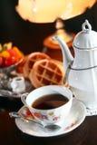 IORI HERBACIANEGO domu herbaty set Zdjęcia Royalty Free