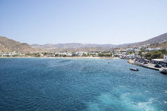 Ios-ö Grekland arkivfoton