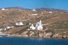 Ios, Cycladen eiland Stock Afbeelding