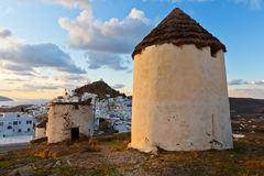 Ios eiland Royalty-vrije Stock Foto's