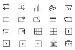 IOS en Vectorpictogrammen 11 van Android Royalty-vrije Stock Afbeelding