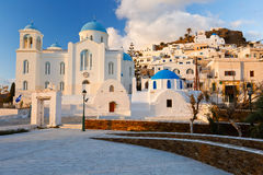 Ios island. Royalty Free Stock Images