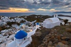 Ios island. Stock Images