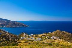 Ios island coast, Cyclades, Aegean, Greece Stock Photography