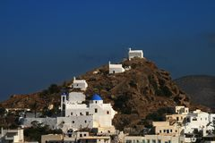 Ios Island, Greece, Stock Images