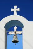 Ios Island, Greece, Church Cross Royalty Free Stock Photos