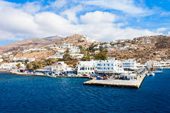 Ios island in Greece Royalty Free Stock Images