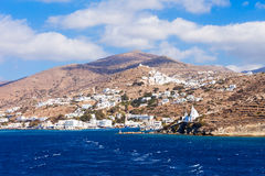 Ios island in Greece Royalty Free Stock Photo