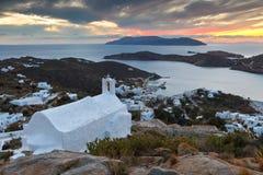 Ios island. Stock Image