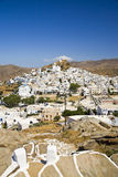 Ios Village, Ios Island, Greece. Ios Village on the Greek Island called Ios, Cyclades, Greece Stock Image