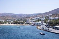 Ios wyspa Grecja fotografia royalty free