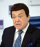 Iosif Kobzon, Soviet and Russian pop singer baritone, musical and public figure, teacher. Russian state Duma Deputy II-VI convo. MOSCOW, RUSSIA - FEBRUARY 17 Royalty Free Stock Photo