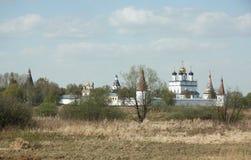 Iosifo-Volotsky man`s monastery near Volokolamsk Royalty Free Stock Images