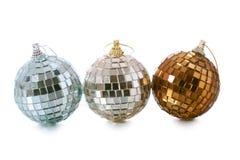 τα Χριστούγεννα σφαιρών δ&iot Στοκ Εικόνα