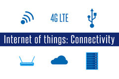 IoT - Connectivity Stock Photo