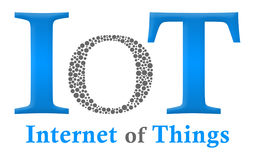 IoT - Internet Of Things Creative O Royalty Free Stock Photos