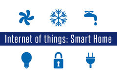 IoT - Smart Home Stock Photography