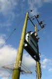 μετασχηματιστής ηλεκτρ&iota στοκ φωτογραφία