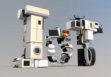 IoTtekst door slimme toestellen wordt samengesteld dat Royalty-vrije Stock Afbeeldingen