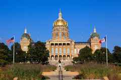 Iowa Capitol Stock Photo