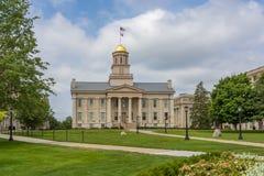 Iowa Capitol Stary budynek zdjęcia stock