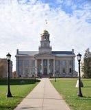 Iowa Capitol Stary budynek zdjęcie stock